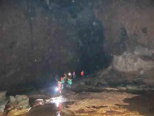 Các nhà thám hiểm phát hiện hóa thạch triệu năm trong hang Tối