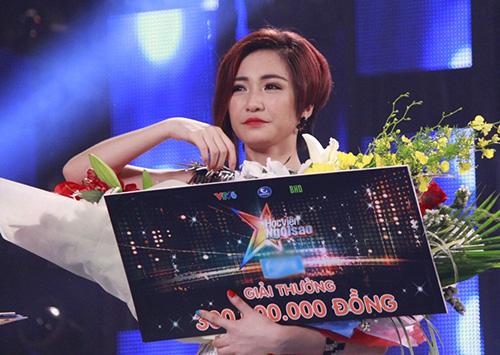 Hòa Minzy đã xuất sắc vượt qua hàng nghìn thí sinh và trở thành quán quân Học viên ngôi sao mùa đầu tiên