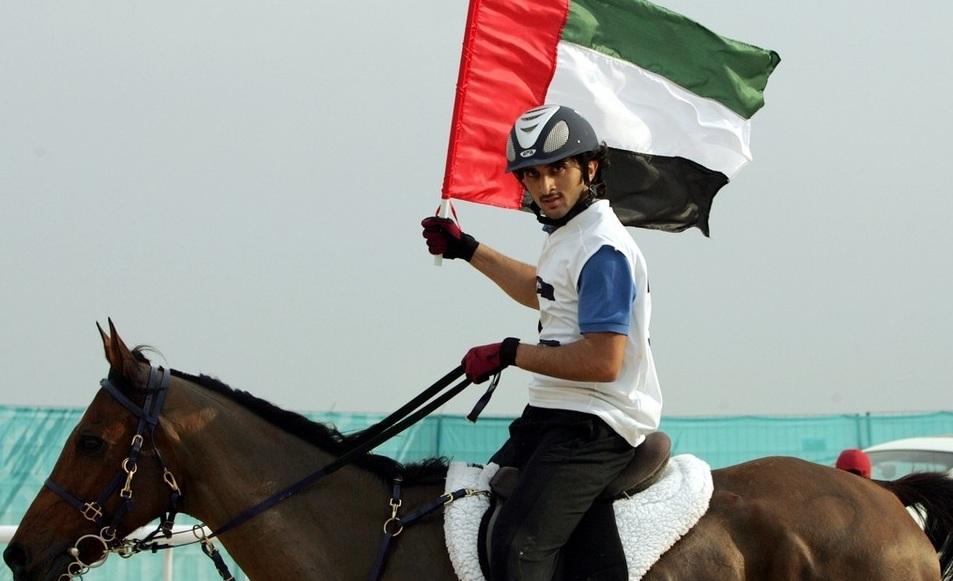 Sheikh Rashid là một người cưỡi ngựa giỏi