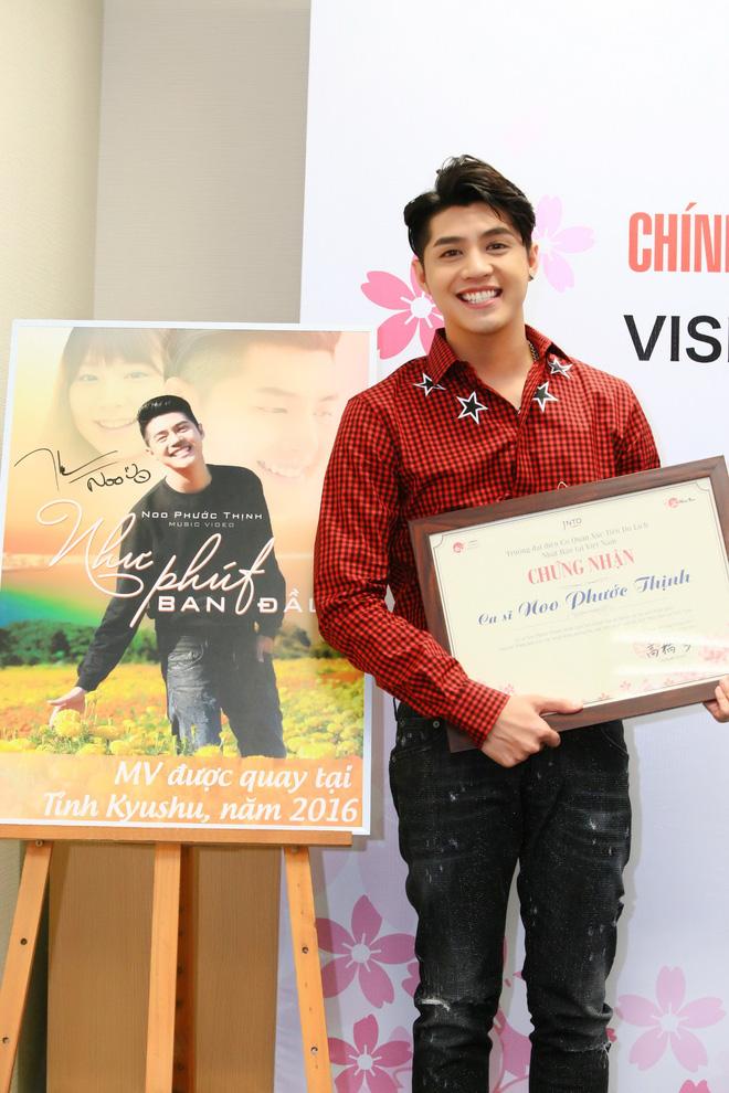 Loạt ảnh 'đốn tim' fans của Noo Phước Thịnh khi trở thành 'Đại sứ thiện chí du lịch Nhật Bản'