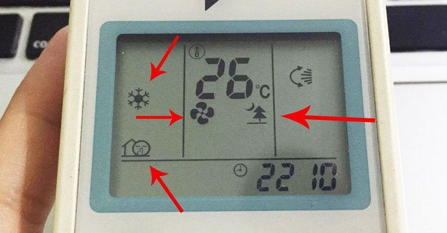 Không phải ai cũng biết ý nghĩa của những ký hiệu trên điều khiển điều hòa nhiệt độ