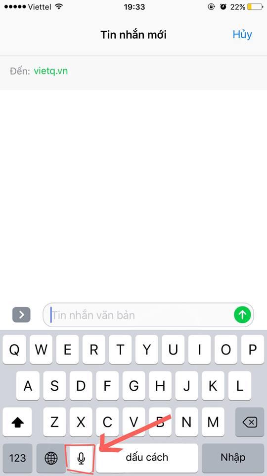 Hầu hết người dùng iPhone không biết mẹo để gõ chữ rất nhanh này