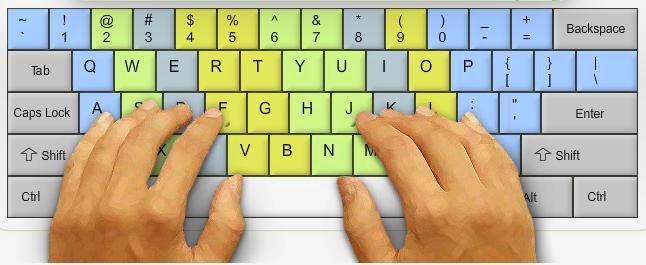 Mẹo đơn giản nhất để học đánh máy cực nhanh không cần nhìn phím