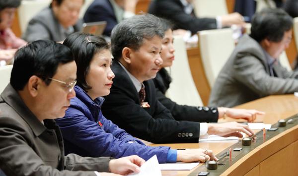 Quốc hội vừa thông qua 13 nhóm quyết sách lớn