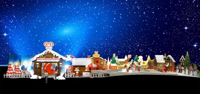 Sắp có ngôi làng đầy tuyết rơi dịp Giáng sinh ngay giữa lòng Hà Nội