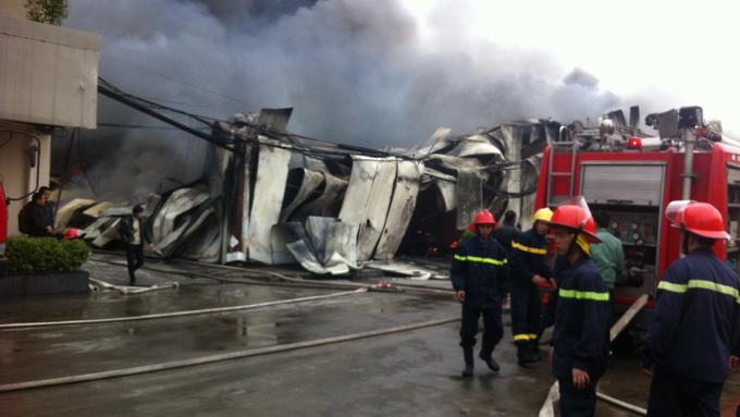 Cháy lớn ở Hà Đông, Hà Nội