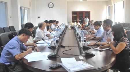 Hội đồng khoa học nghiệm thu đề tài trọng điểm cấp nhà nước KC.06/11-15