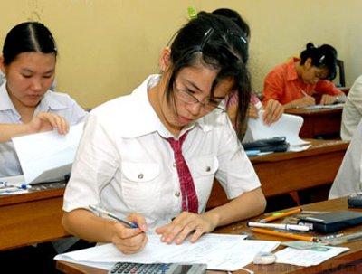 Kỳ thi THPT Quốc gia 2015: Quy chế tuyển sinh thay đổi có lợi cho thí sinh