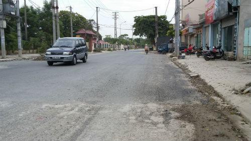 Quốc lộ 181 sau khi Chất lượng Việt Nan phản ánh đã được lấp dần ổ voi, ổ trâu