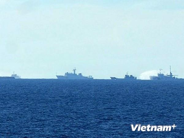 tình hình Biển Đông 27/6: tàu Trung Quốc hú còi, đâm trượt tàu Việt Nam