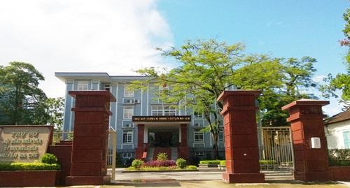 Trụ sở UBND huyện Ba Chẽ