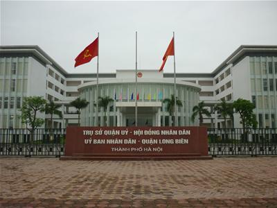 Trụ sở UBND quận Long Biên