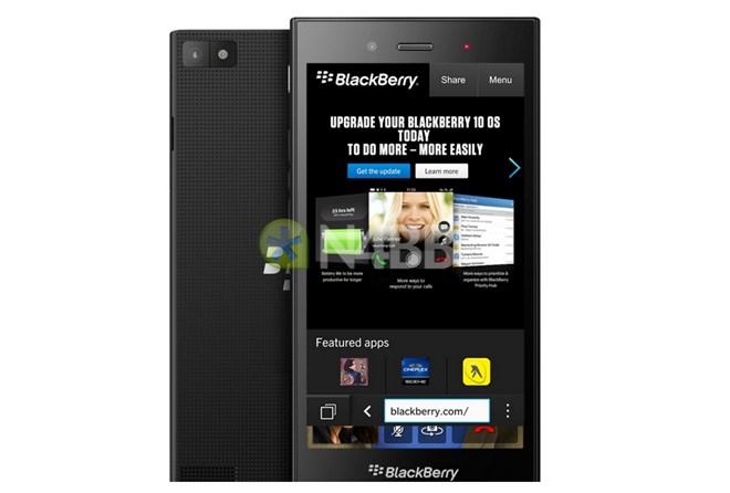 Xuất hiện hình ảnh smartphone BlackBerry Jakarta