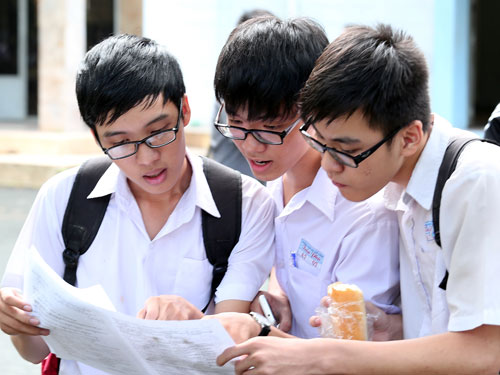 Điểm chuẩn 2014 dự kiến của nhiều trường sẽ tăng