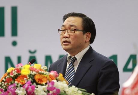Phó Thủ tướng Hoàng Trung Hải chỉ đạo họp về điện hạt nhân