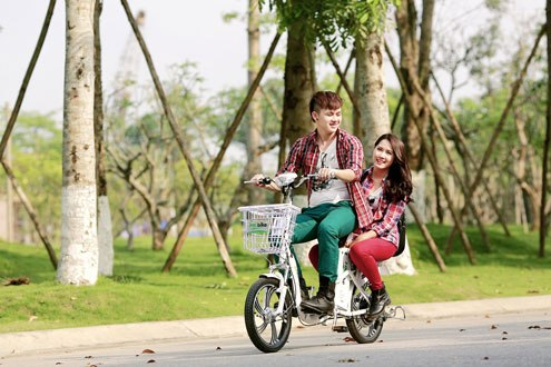 Xe máy điện, xe đạp điện mấy an toàn, gây ô nhiễm môi trường
