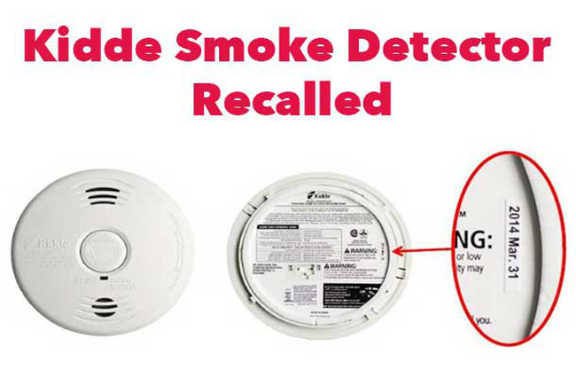 Mỹ: Thương hiệu Kidde thu hồi gần 500.000 bộ cảm biến phát hiện khói lỗi