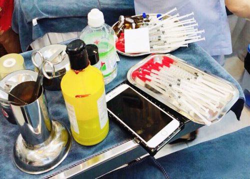 Công an bắt quả tang một sơ sở phẫu thuật thẩm mỹ chui ở chung cư TP HCM