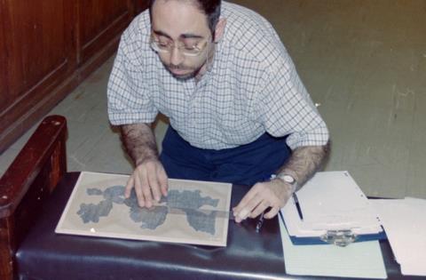 Tiến sĩ Wael Sherbiny đang cố gắng tái dựng cuốn Book of the Dead của người Ai Cập cổ đại