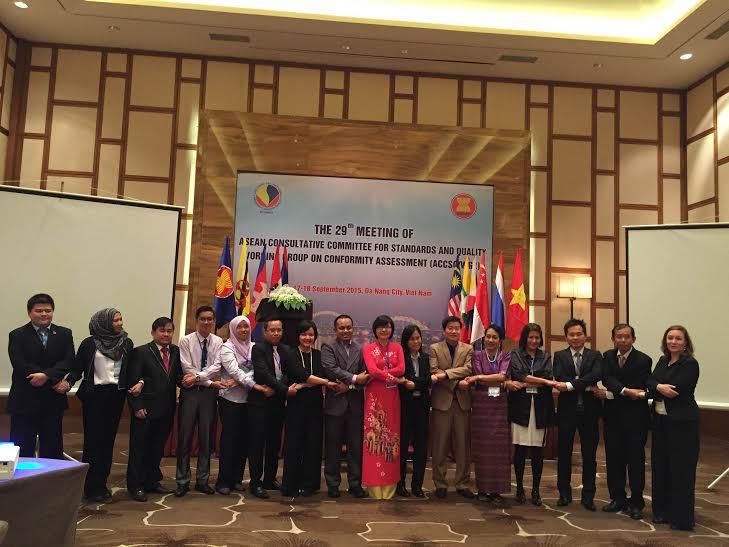 Hội nghị Nhóm công tác về đánh giá sự phù hợp của Uỷ ban tư vấn về tiêu chuẩn và chất lượng của ASEAN (ACCSQ/WG2).
