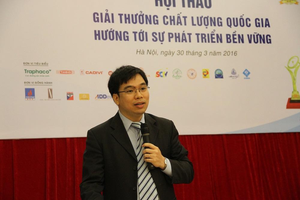 Ông Nguyễn Nam Hải - Phó Tổng cục trưởng Tổng cục Tiêu chuẩn Đo lường Chất lượng