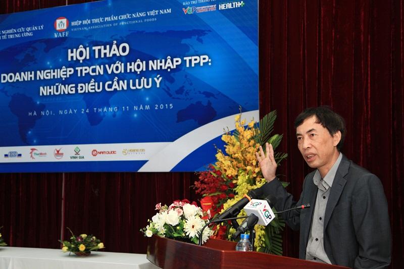 TS. Võ Trí Thành - Phó Viện trưởng Viện nghiên cứu Quản lý kinh tế Trung ương