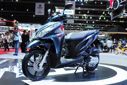Xe máy Honda Click 125i mới nhất về Việt Nam với mức giá 59 triệu đồng