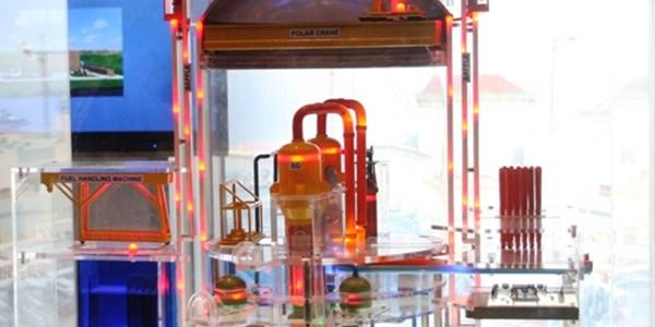 hạt nhân khử trùng nguyên vật liệu