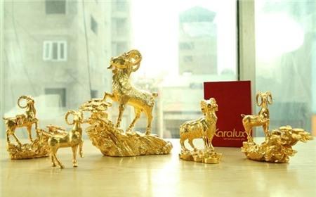 Dê vàng nửa tỷ làm quà biếu cho đại gia chơi tết