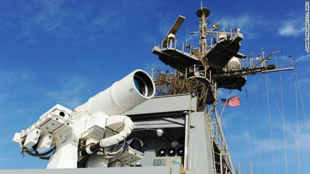 Vũ khí laser mới của Mỹ có sức mạnh vô cùng khủng khiếp