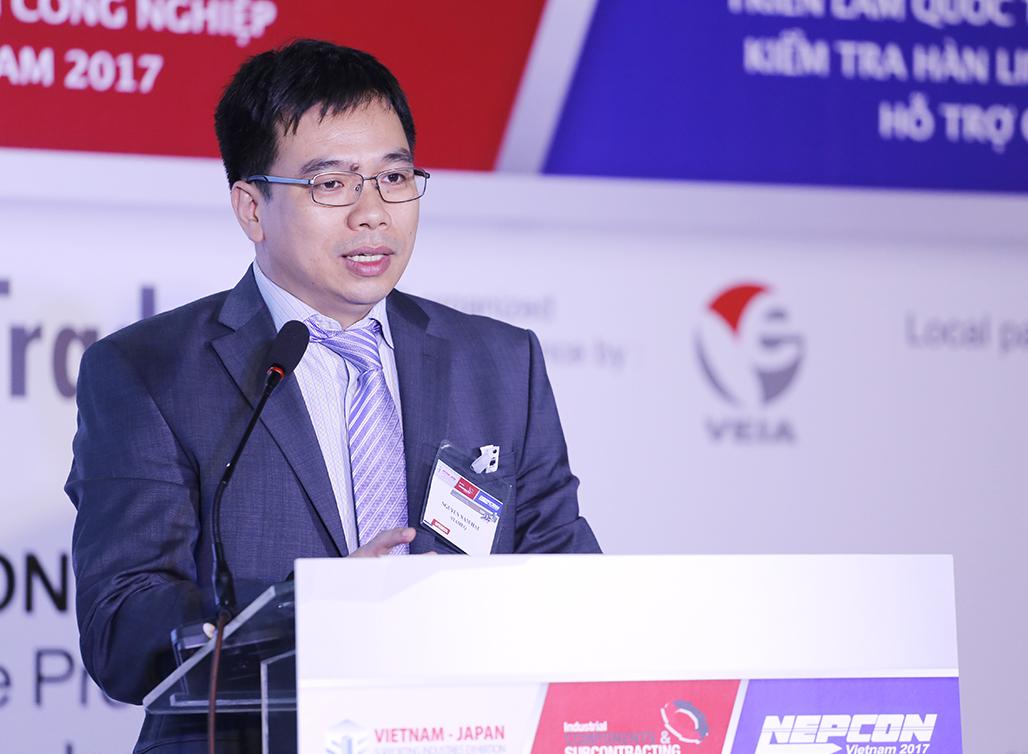 Phó Tổng cục trưởng Tổng cục TCĐLCL Nguyễn Nam Hải phát biểu tại Hội thảo