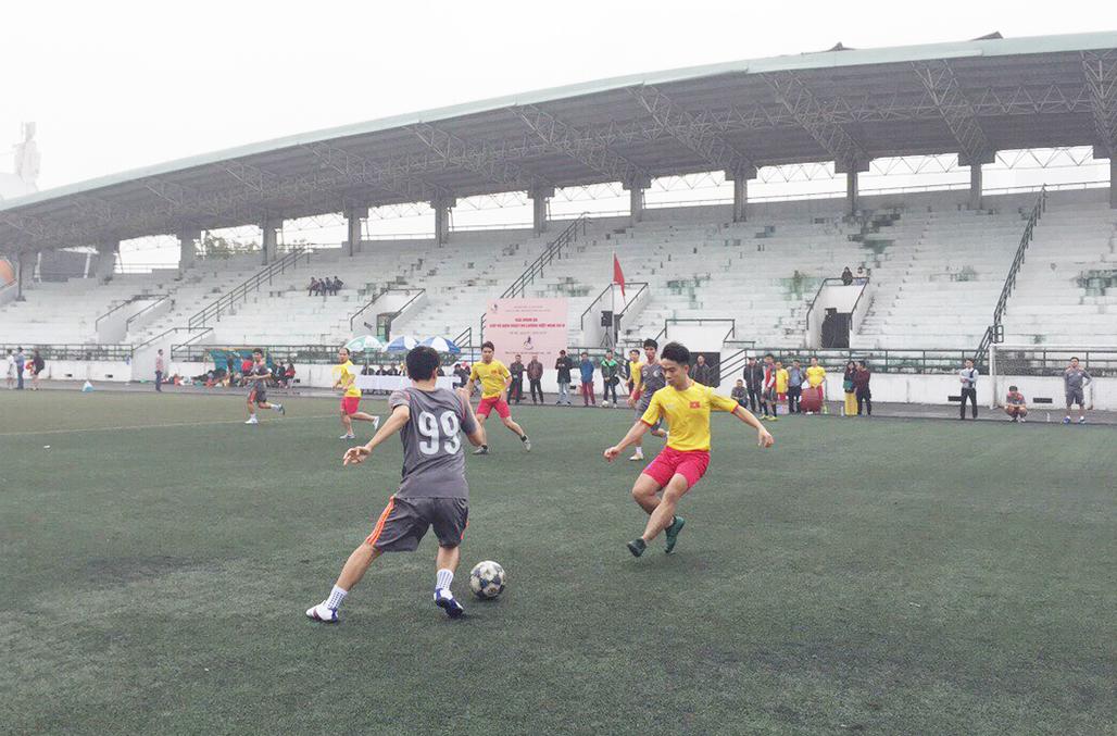 Khai mạc giải bóng đá Cup vô địch Ngày Đo lường Việt Nam 2018 - ảnh 4