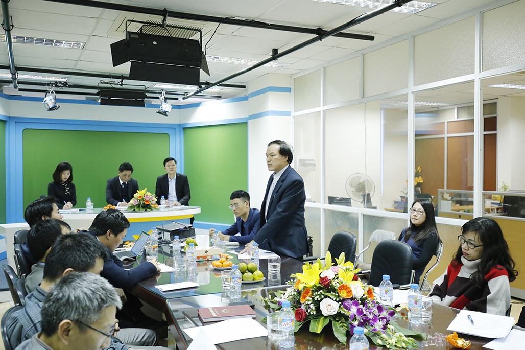 Ông Trần Quốc Tuấn, Cục trưởng Cục Quản lý Chất lượng sản phẩm, hàng hóa phát biểu tại hội nghị.