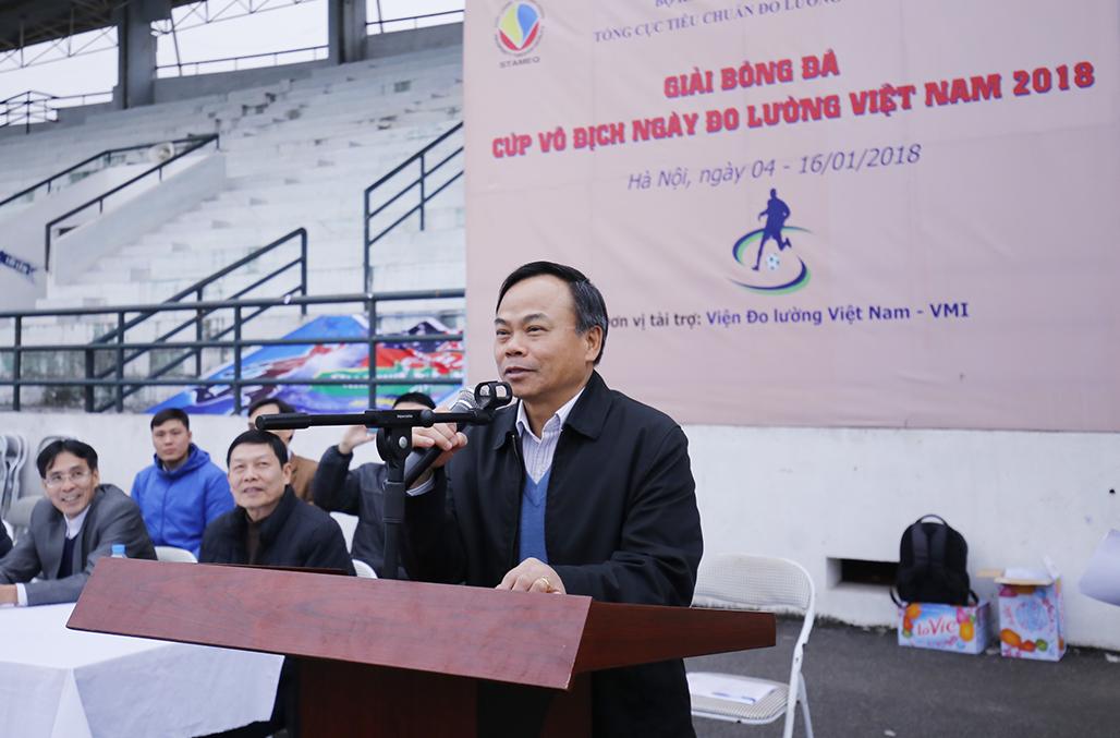 Lễ bế mạc giải bóng đã ''Cúp vô địch ngày Đo lường Việt Nam 2018''
