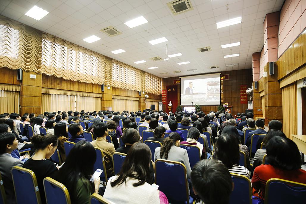 Bộ KH&CN quán triệt và triển khai thực hiện Nghị quyết Hội nghị Trung ương 6, khóa XII - ảnh 2