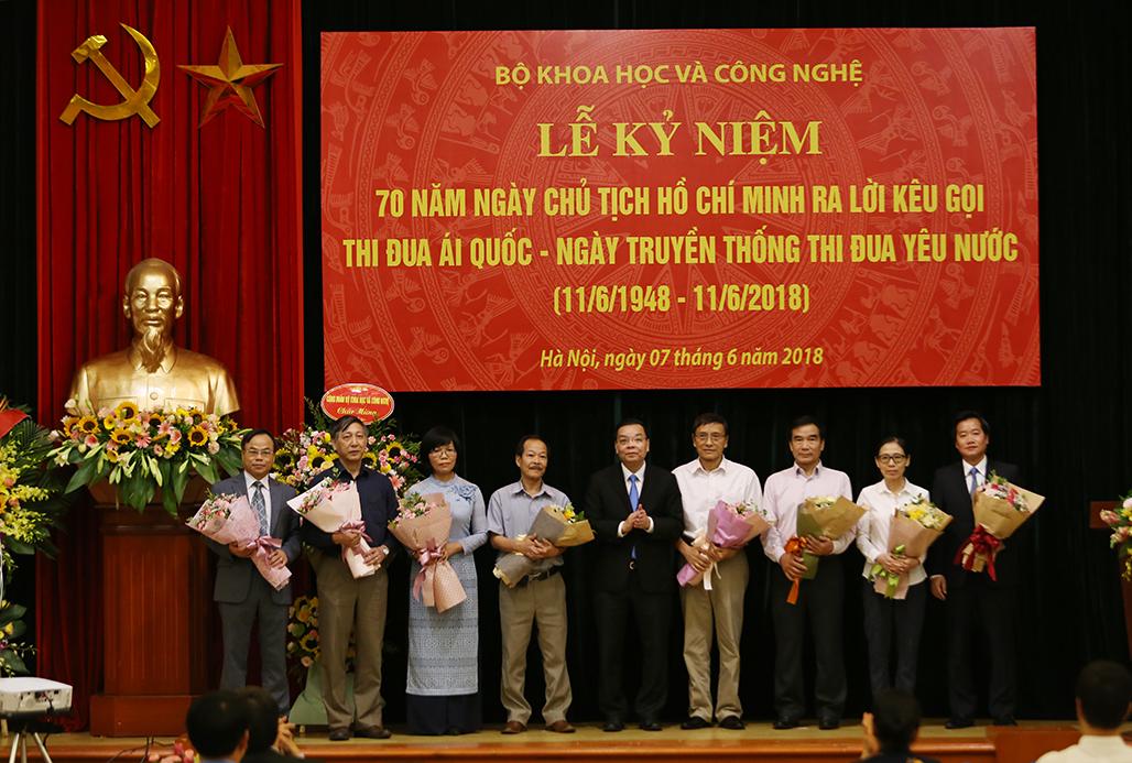 Thúc đẩy phong trào thi đua của Bộ KH&CN, nhiều tổ chức cá nhân đạt thành tích cao - ảnh 5