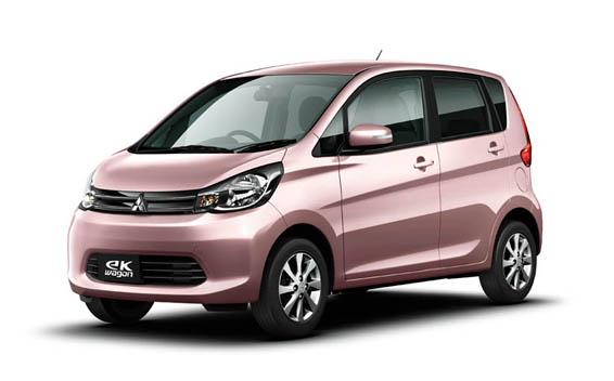 Mitsubishi eK Wagon, 1 trong 4 mẫu xe nằm trong vụ bê bối. Ảnh: Vnmedia