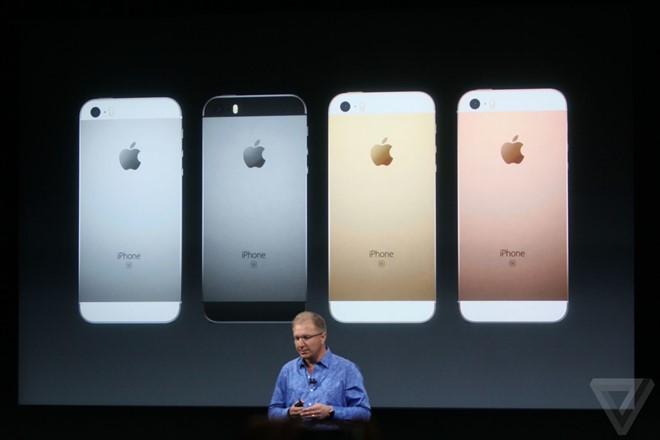 Buổi ra mắt iPhone SE lúc 0h ngày 22/3