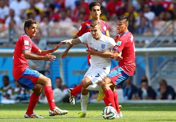 Kết quả tỉ số trận đấu Costa Rica – Anh World Cup 2014: Hòa 0-0