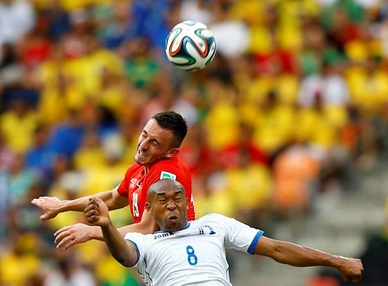 Kết quả tỉ số trận đấu Honduras – Thụy Sỹ World Cup 2014: 0-3