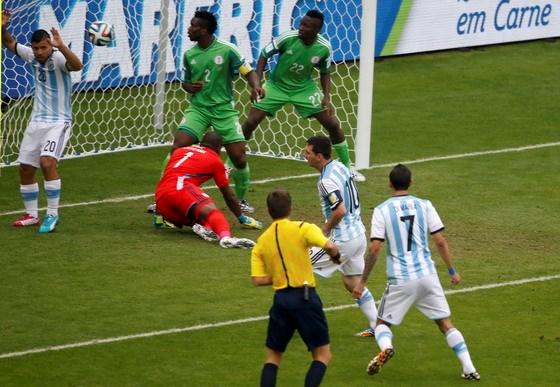 Kết quả tỉ số trận đấu Nigeria – Argentina World Cup 2014: 2-3