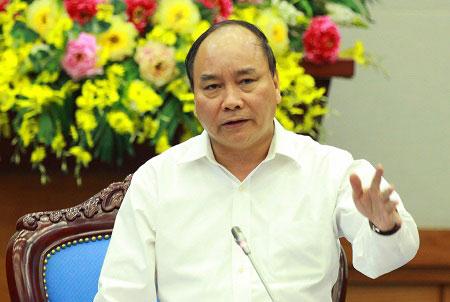 Phó Thủ tướng Nguyễn Xuân Phúc đặt nghi vấn liệu có hay không việc 'bảo kê' cho người khai thác cát trái phép