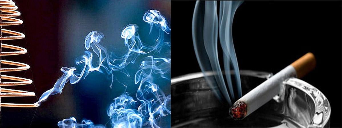 khói hương có khả năng thay đổi vật liệu di truyền như DNA, và do đó gây ra đột biến.