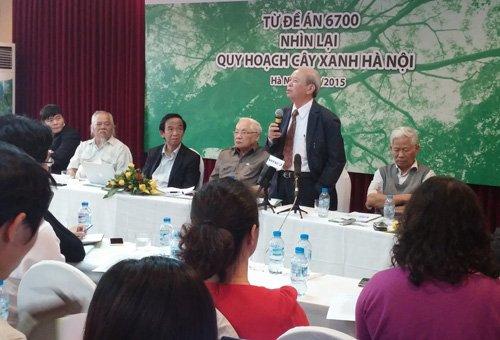 Bí thư Thành Ủy khẳng định lãnh đạo thành phố đã kịp thời nhận ra những thiếu sót trong việc chặt hạ cây xanh