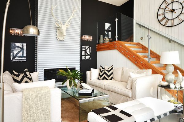 Cây xanh giúp cải thiện không gian phòng khách bớt chật