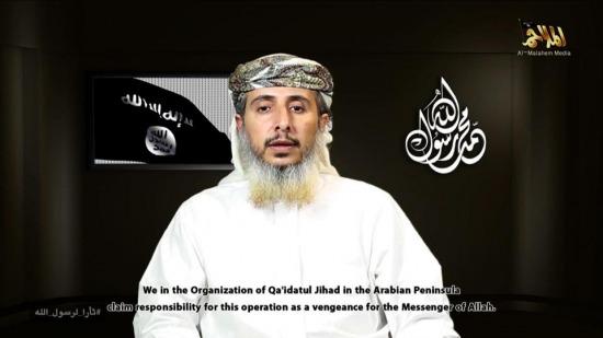 Một trong những thủ lĩnh tối cao của tổ chức khủng bố Alqaeda đã lên tiếng nhận trách nhiệm vụ thảm sát Charlie Hebdo