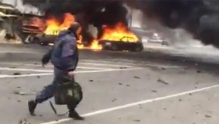 IS đánh bom xe tại Nga