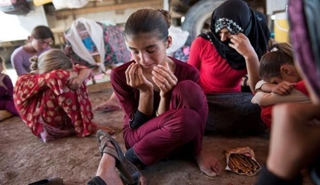 Nhiều trẻ em người thiểu số Yazidi cũng trở thành nạn nhân của khủng bố IS