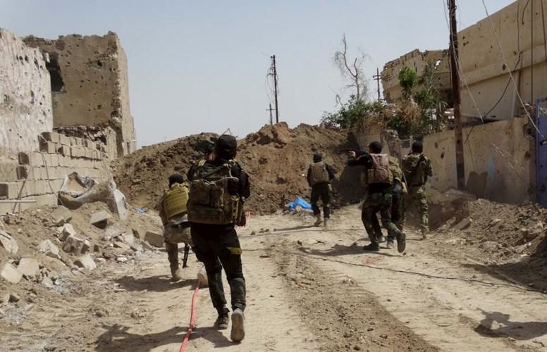 Lực lượng an ninh Iraq trên đường truy lùng khủng bố IS ở vùng ngoại ô Ramadi