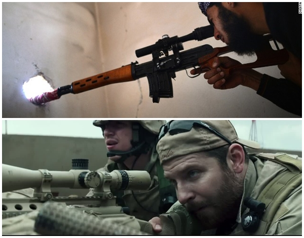 Khủng bố IS đã tung video khoe lính bắn tỉa nhằm so kè với huyền thoại bắn tỉa Mỹ